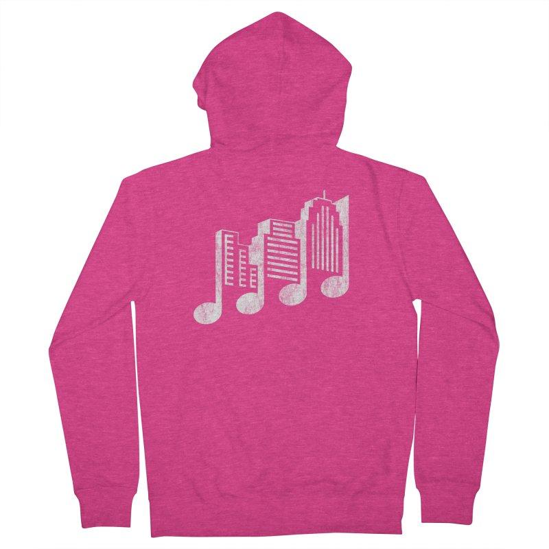 Melodicity Women's Zip-Up Hoody by Dianne Delahunty's Artist Shop