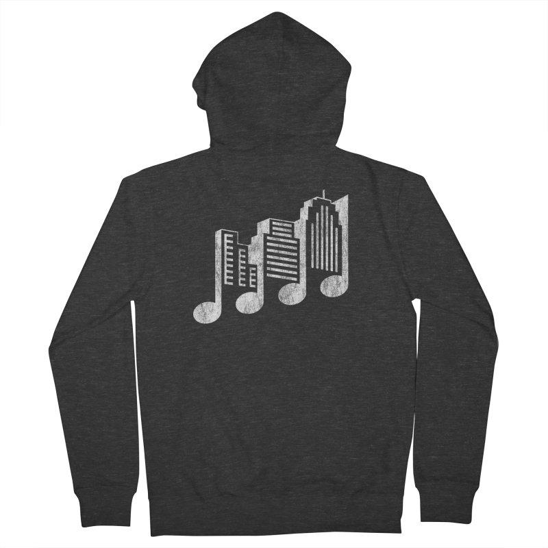 Melodicity Men's Zip-Up Hoody by Dianne Delahunty's Artist Shop