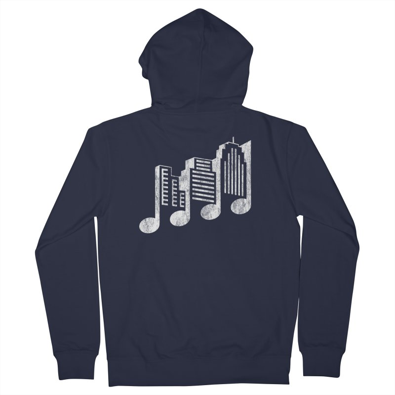 Melodicity Men's Zip-Up Hoody by Dianne Delahunty's Artist Shop