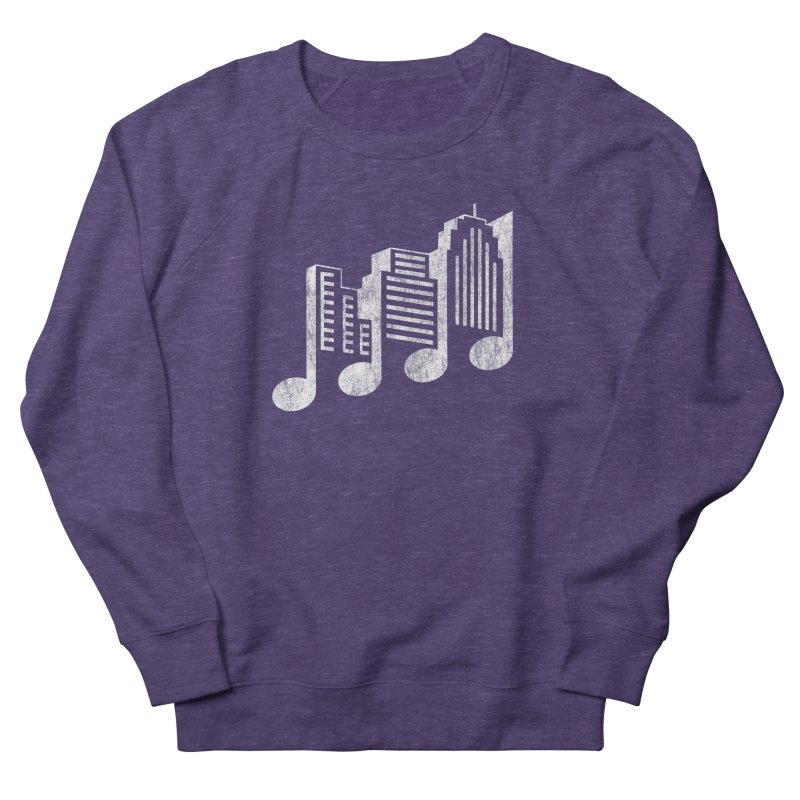Melodicity Women's French Terry Sweatshirt by Dianne Delahunty's Artist Shop