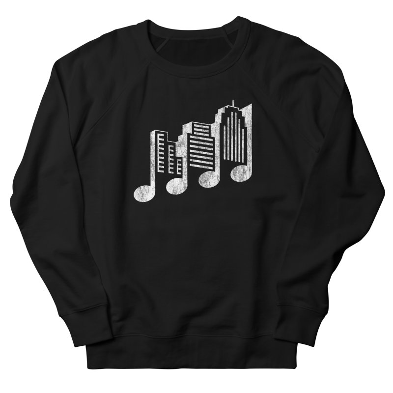 Melodicity Men's French Terry Sweatshirt by Dianne Delahunty's Artist Shop