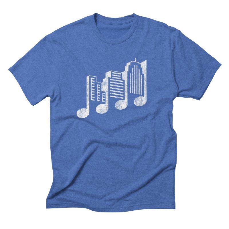 Melodicity Men's Triblend T-Shirt by Dianne Delahunty's Artist Shop