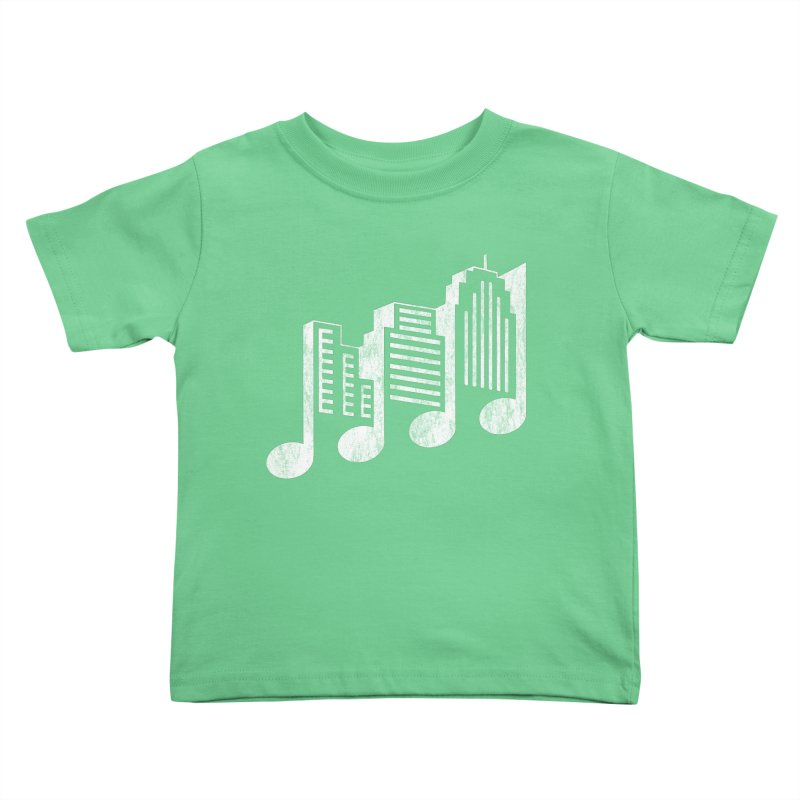 Melodicity Kids Toddler T-Shirt by Dianne Delahunty's Artist Shop