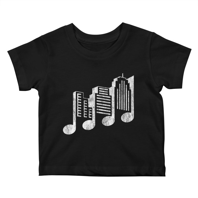 Melodicity Kids Baby T-Shirt by Dianne Delahunty's Artist Shop