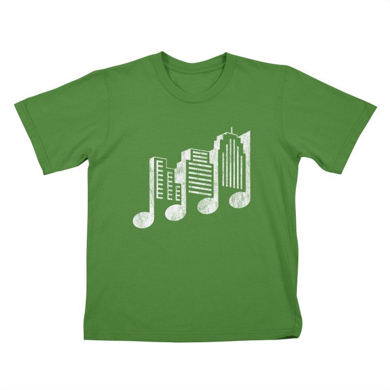 Melodicity Kids T-Shirt by Dianne Delahunty's Artist Shop