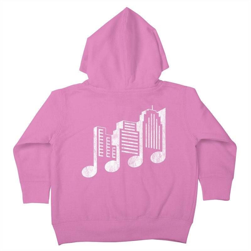 Melodicity Kids Toddler Zip-Up Hoody by Dianne Delahunty's Artist Shop