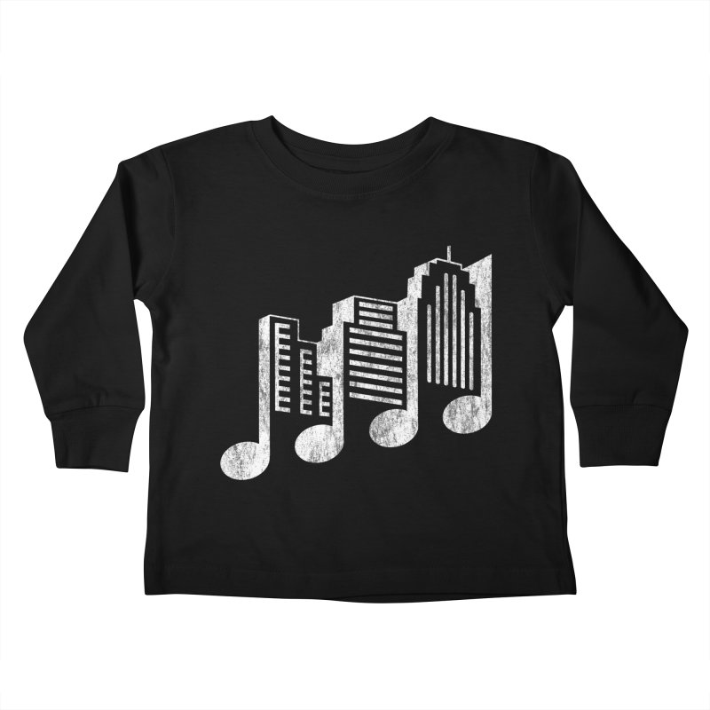 Melodicity Kids Toddler Longsleeve T-Shirt by Dianne Delahunty's Artist Shop