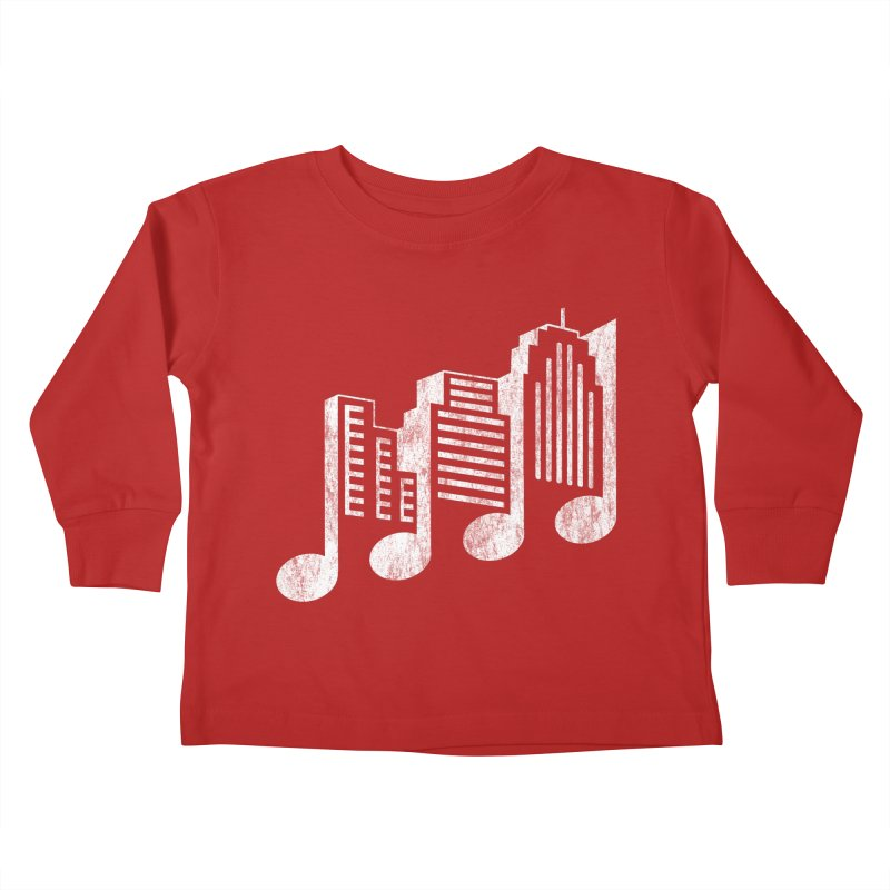 Melodicity Kids Toddler Longsleeve T-Shirt by Dianne Delahunty's Artist Shop
