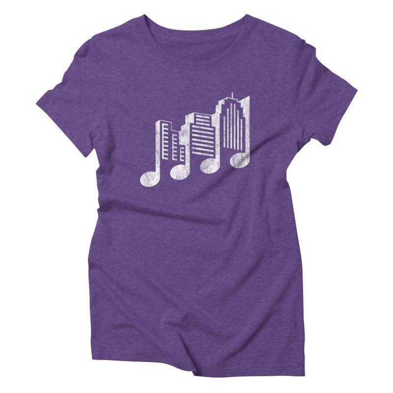 Melodicity Women's Triblend T-shirt by Dianne Delahunty's Artist Shop