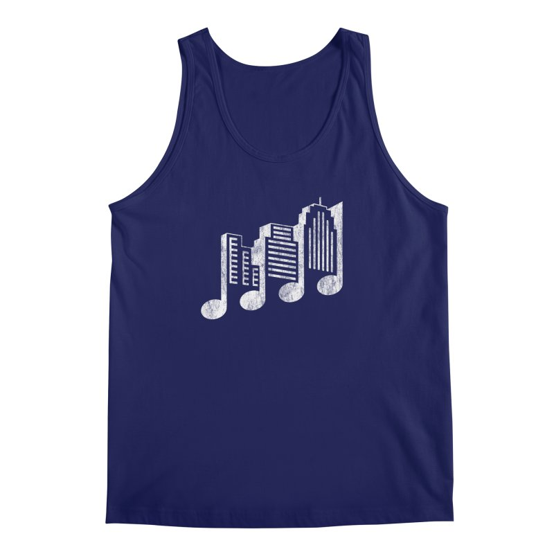 Melodicity Men's Regular Tank by Dianne Delahunty's Artist Shop