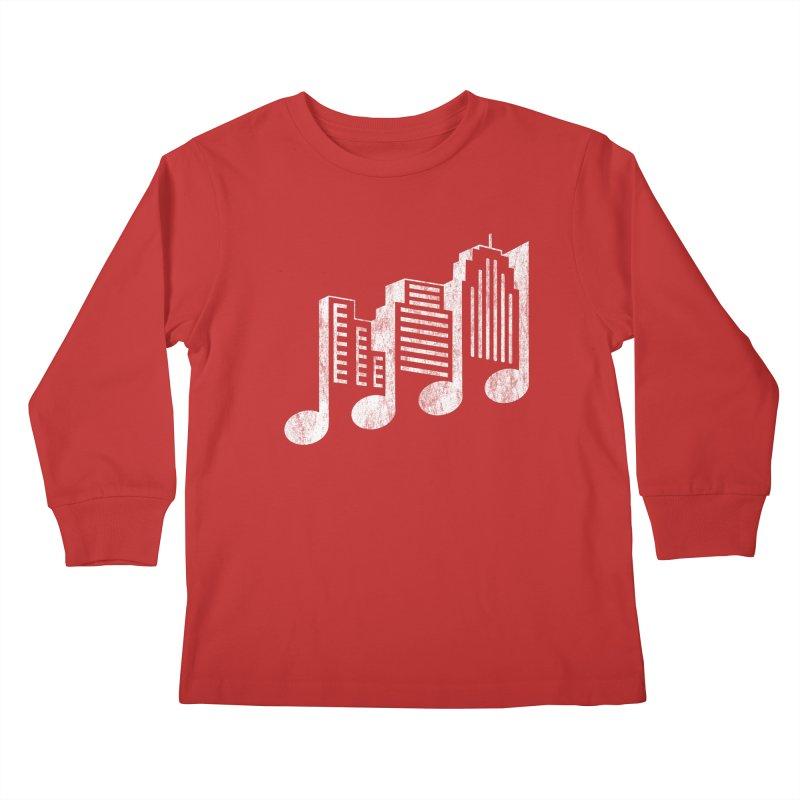 Melodicity Kids Longsleeve T-Shirt by Dianne Delahunty's Artist Shop