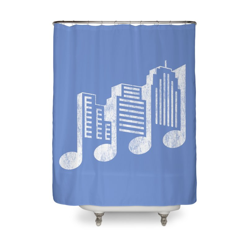 Melodicity Home Shower Curtain by Dianne Delahunty's Artist Shop