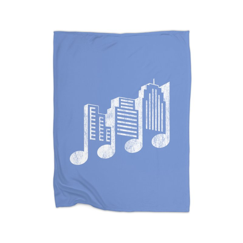 Melodicity Home Blanket by Dianne Delahunty's Artist Shop