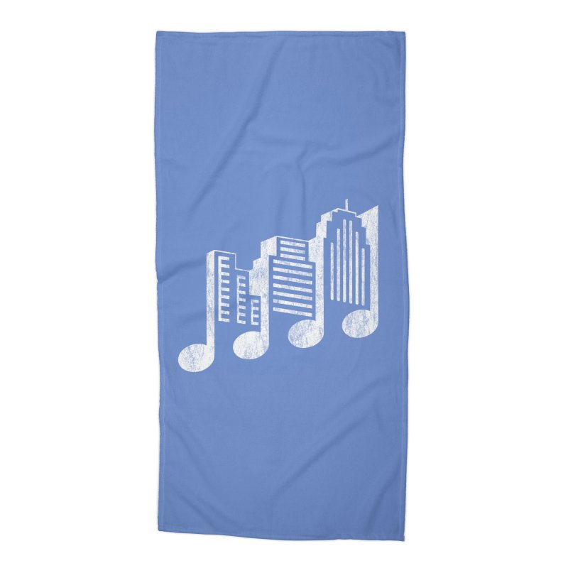 Melodicity Accessories Beach Towel by Dianne Delahunty's Artist Shop