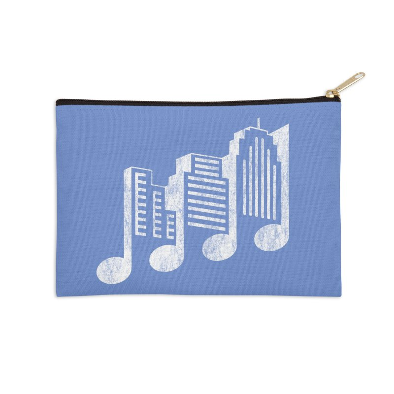 Melodicity Accessories Zip Pouch by Dianne Delahunty's Artist Shop