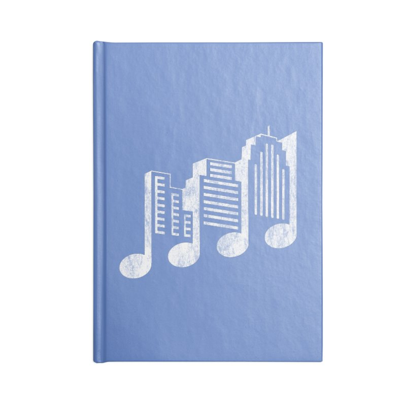 Melodicity Accessories Notebook by Dianne Delahunty's Artist Shop