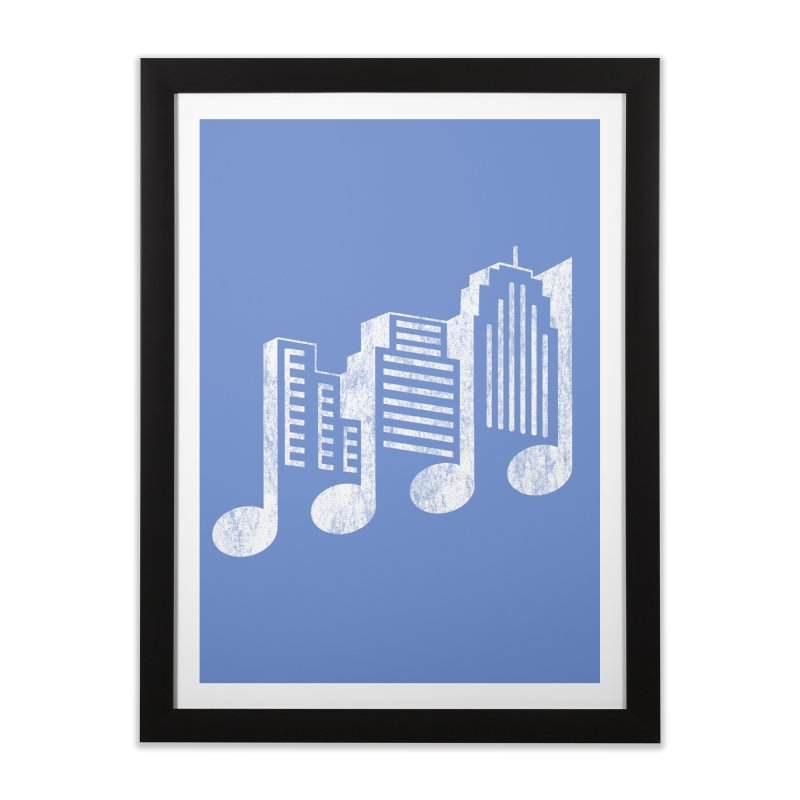 Melodicity Home Framed Fine Art Print by Dianne Delahunty's Artist Shop
