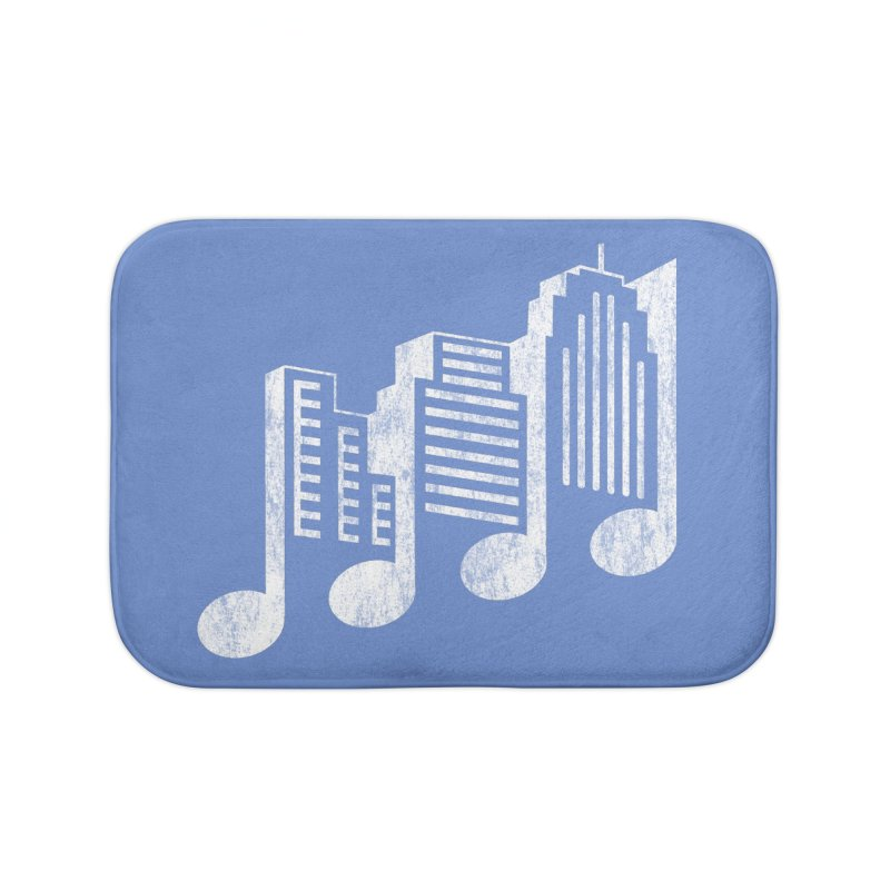 Melodicity Home Bath Mat by Dianne Delahunty's Artist Shop