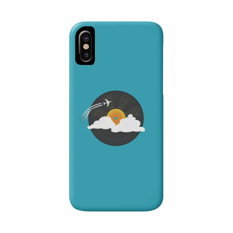 Sunburst Records Accessories Phone Case by Dianne Delahunty's Artist Shop