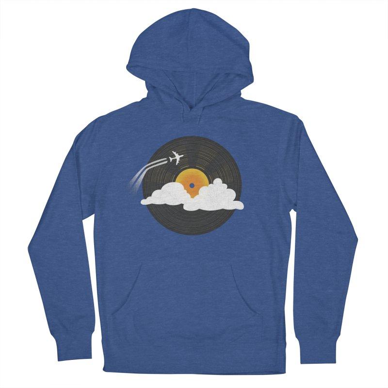 Sunburst Records Men's Pullover Hoody by Dianne Delahunty's Artist Shop