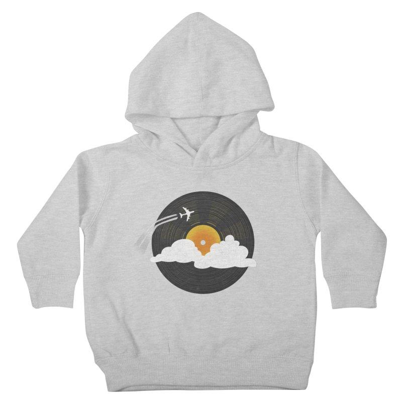 Sunburst Records Kids Toddler Pullover Hoody by Dianne Delahunty's Artist Shop