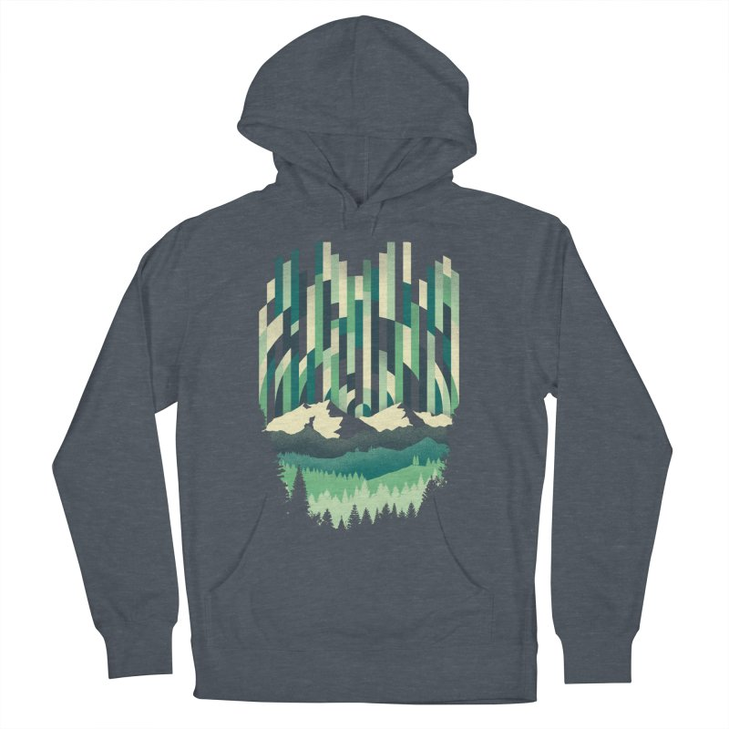 Sunrise in Vertical Women's French Terry Pullover Hoody by Dianne Delahunty's Artist Shop