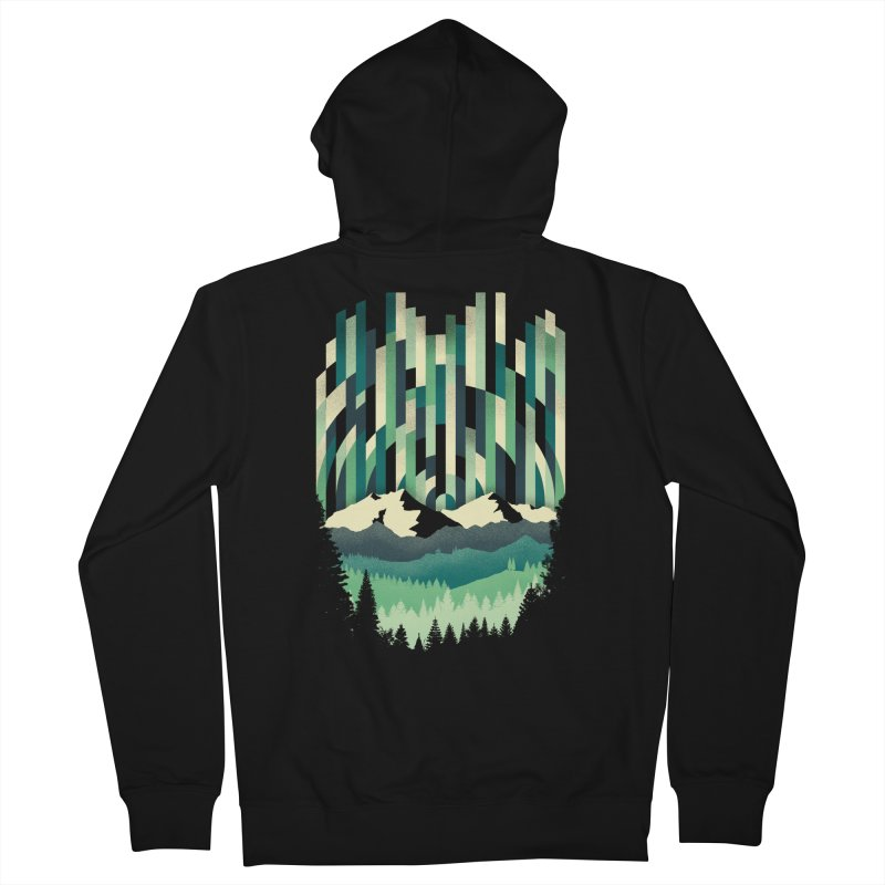 Sunrise in Vertical Women's French Terry Zip-Up Hoody by Dianne Delahunty's Artist Shop