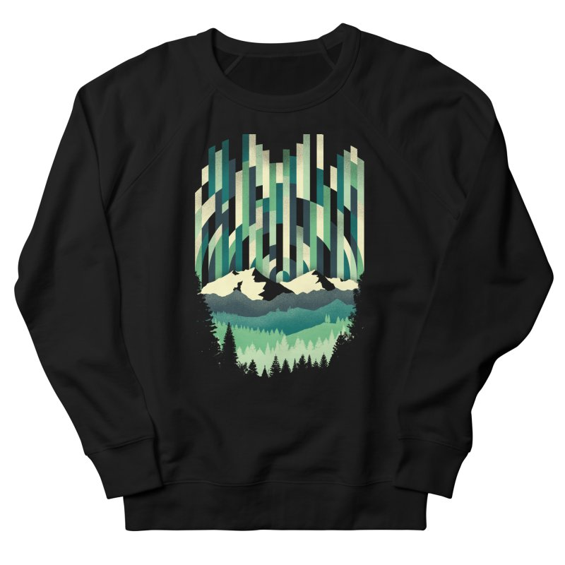Sunrise in Vertical Men's French Terry Sweatshirt by Dianne Delahunty's Artist Shop