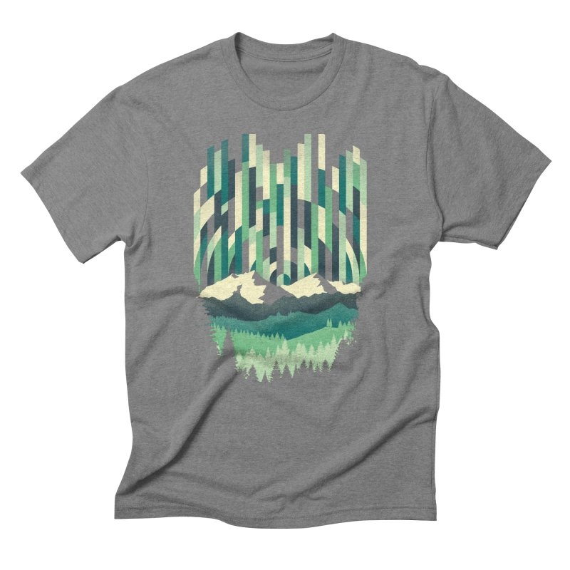 Sunrise in Vertical Men's Triblend T-Shirt by Dianne Delahunty's Artist Shop