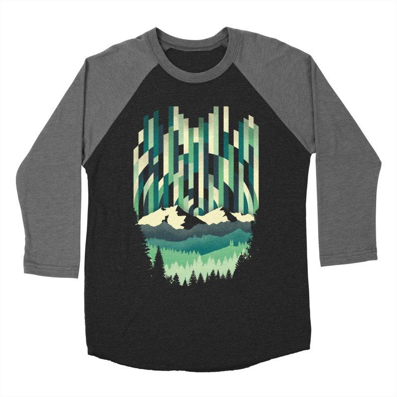 Sunrise in Vertical Men's Baseball Triblend T-Shirt by Dianne Delahunty's Artist Shop