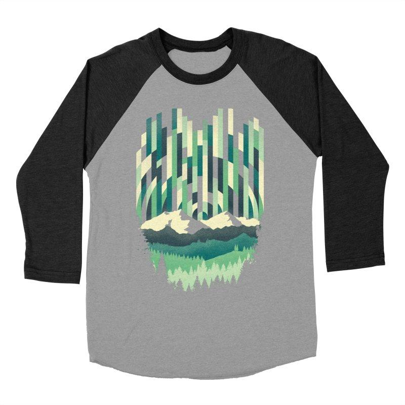 Sunrise in Vertical Men's Baseball Triblend Longsleeve T-Shirt by Dianne Delahunty's Artist Shop