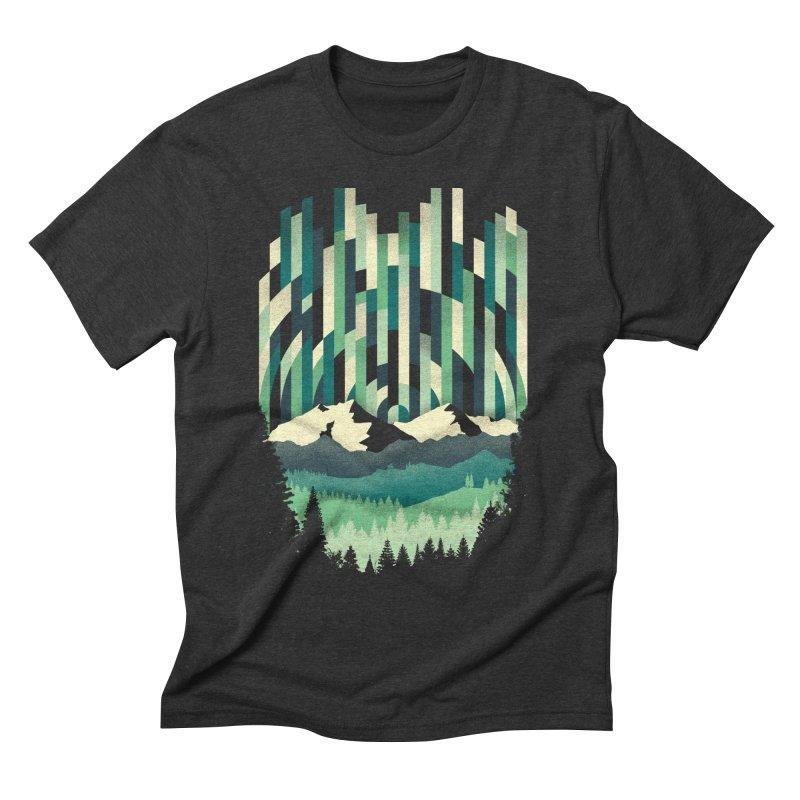 Sunrise in Vertical Men's Triblend T-shirt by Dianne Delahunty's Artist Shop