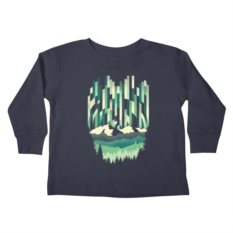 Sunrise in Vertical Kids Toddler Longsleeve T-Shirt by Dianne Delahunty's Artist Shop