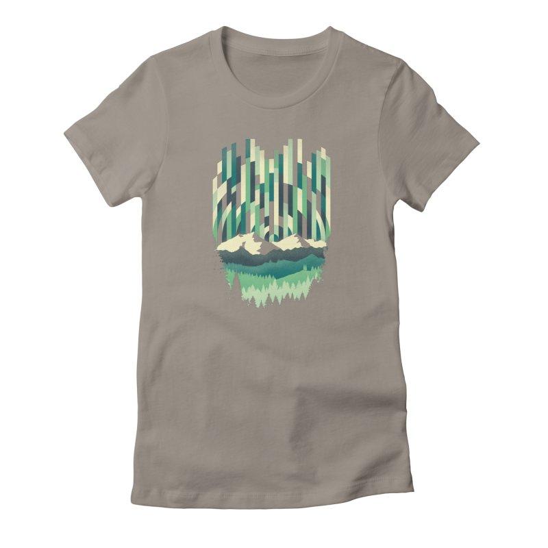 Sunrise in Vertical Women's T-Shirt by Dianne Delahunty's Artist Shop
