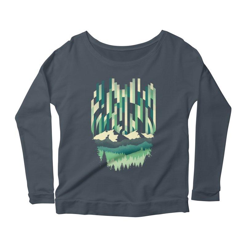 Sunrise in Vertical Women's Scoop Neck Longsleeve T-Shirt by Dianne Delahunty's Artist Shop