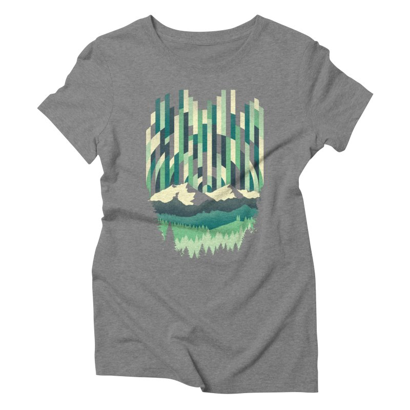 Sunrise in Vertical Women's Triblend T-Shirt by Dianne Delahunty's Artist Shop