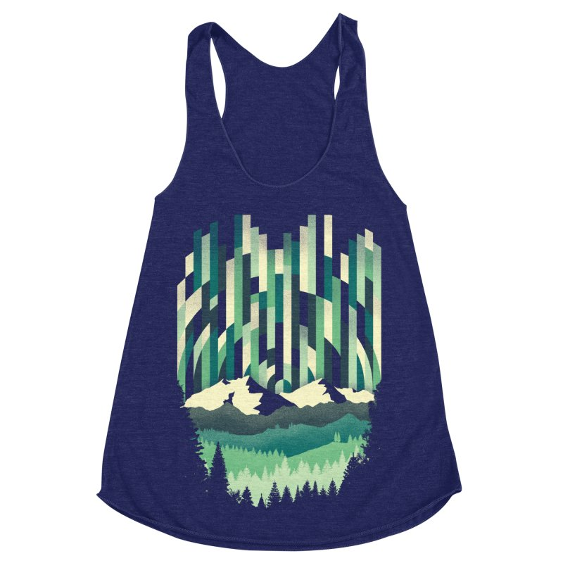 Sunrise in Vertical Women's Racerback Triblend Tank by Dianne Delahunty's Artist Shop