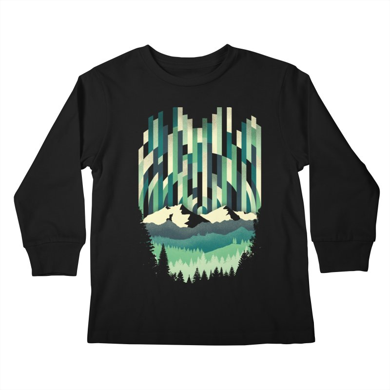 Sunrise in Vertical Kids Longsleeve T-Shirt by Dianne Delahunty's Artist Shop