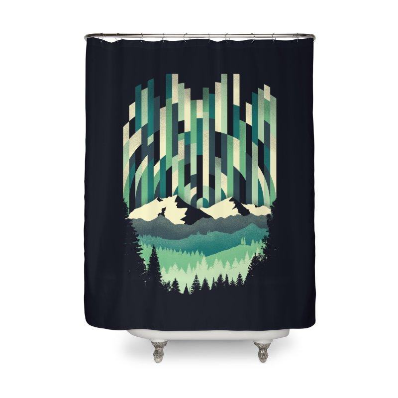 Sunrise in Vertical Home Shower Curtain by Dianne Delahunty's Artist Shop