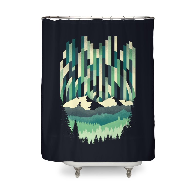 Sunrise in Vertical Home Shower Curtain by Dianne Delahunty's Artist Shop