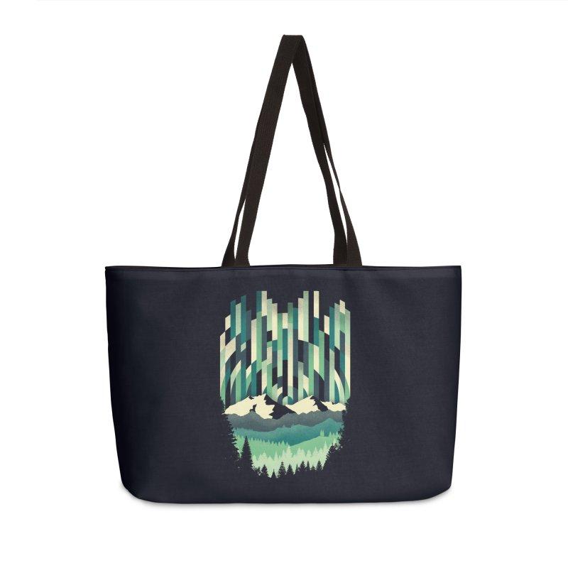 Sunrise in Vertical Accessories Weekender Bag Bag by Dianne Delahunty's Artist Shop