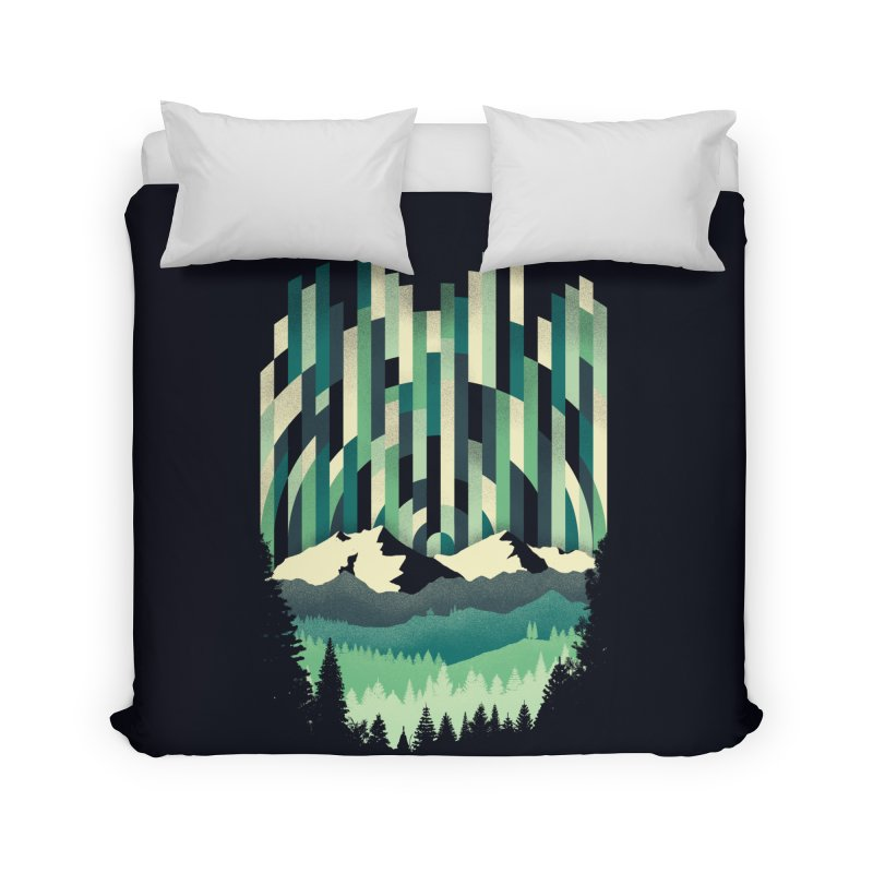 Sunrise in Vertical Home Duvet by Dianne Delahunty's Artist Shop