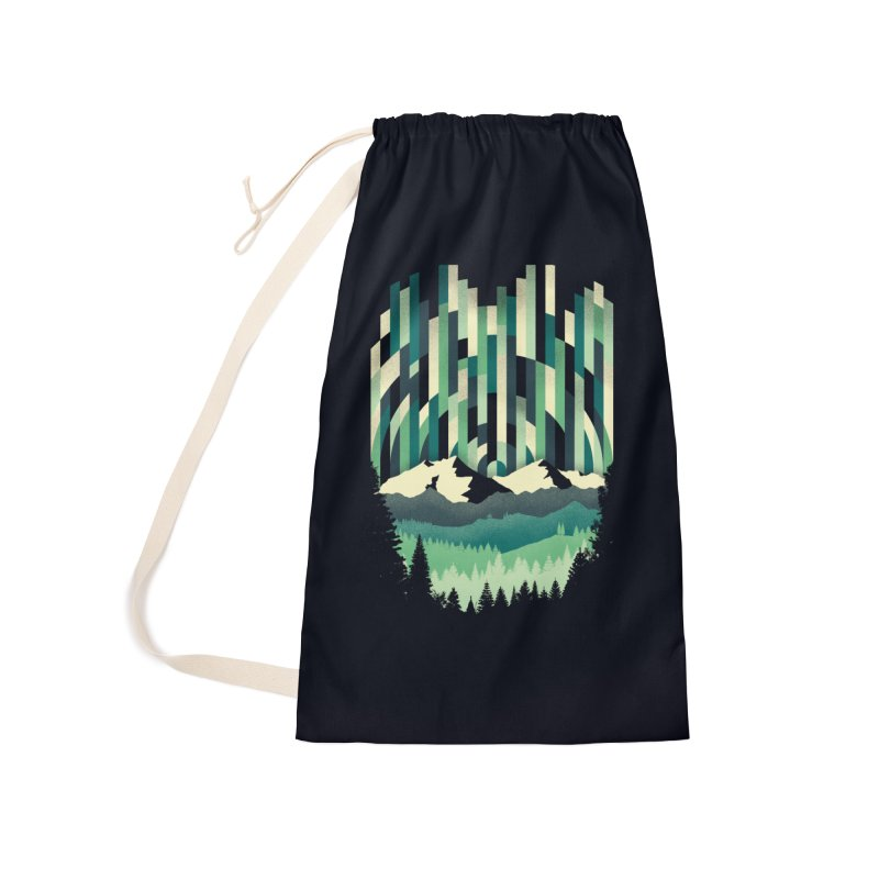 Sunrise in Vertical Accessories Laundry Bag Bag by Dianne Delahunty's Artist Shop