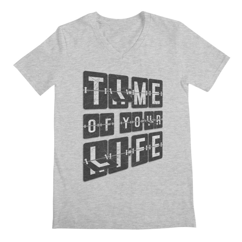 Time Men's V-Neck by Dianne Delahunty's Artist Shop