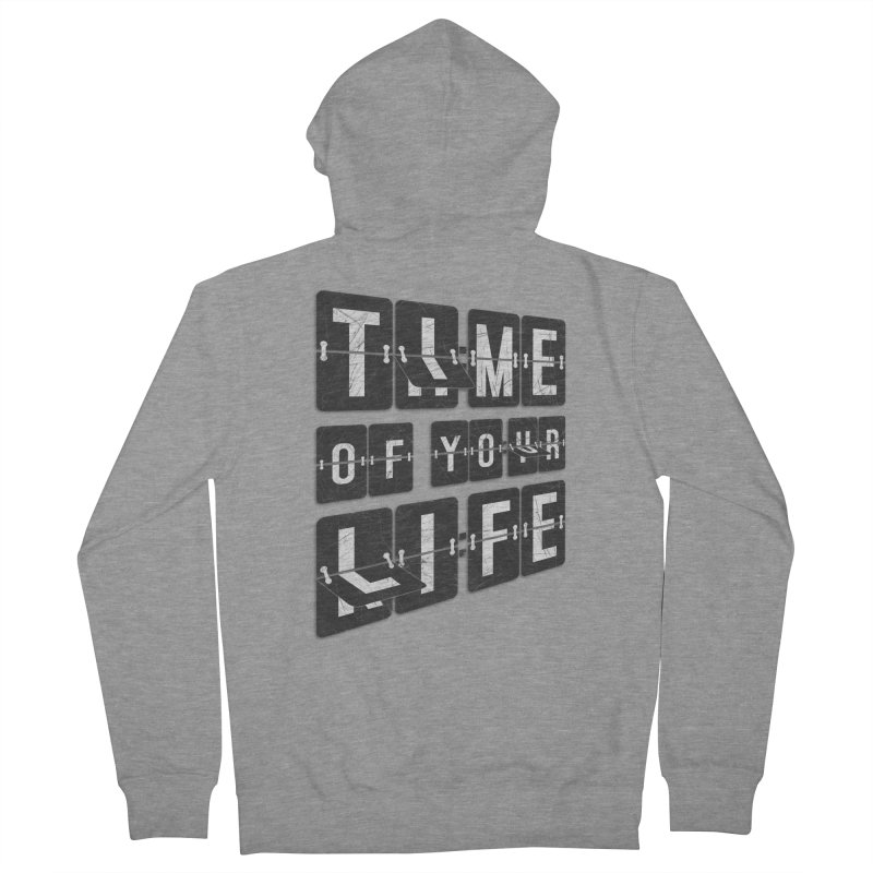 Time Women's French Terry Zip-Up Hoody by Dianne Delahunty's Artist Shop