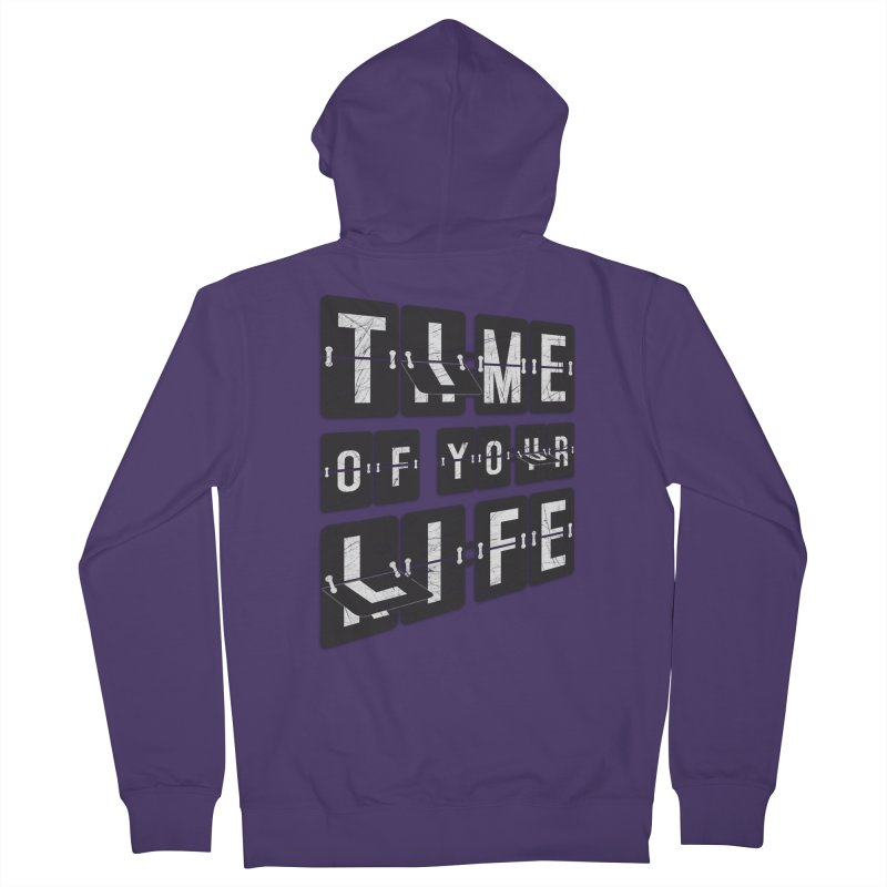 Time Women's Zip-Up Hoody by Dianne Delahunty's Artist Shop