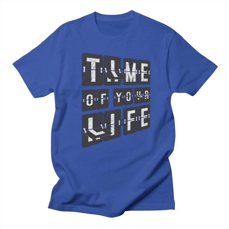 Time Men's Regular T-Shirt by Dianne Delahunty's Artist Shop