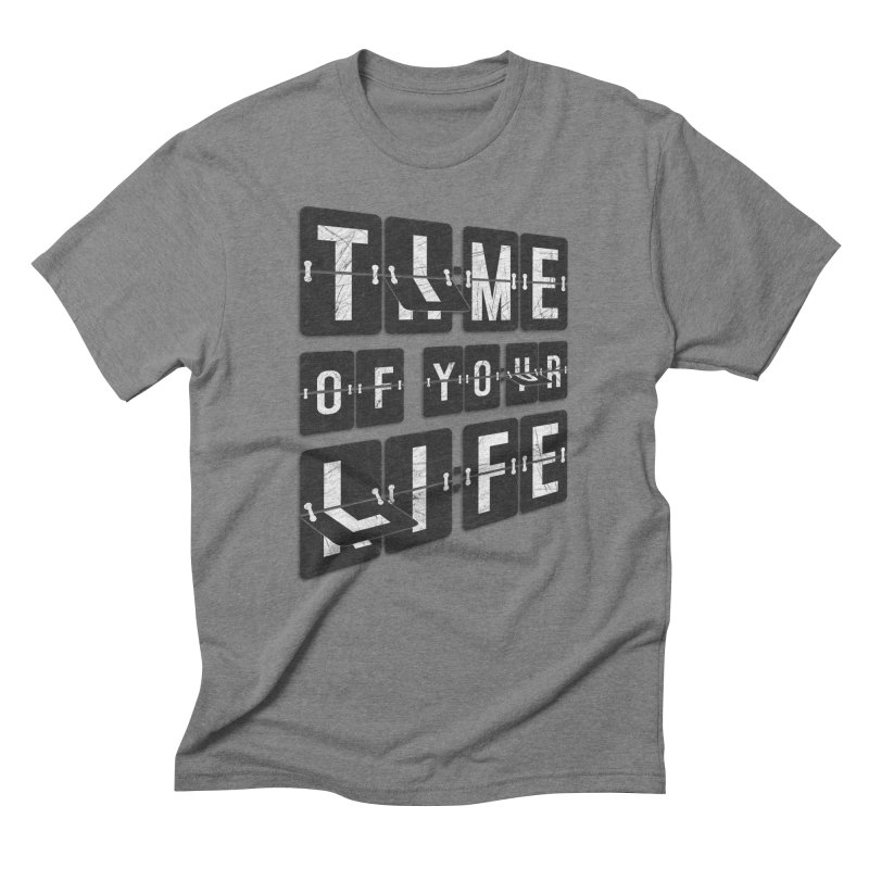 Time Men's Triblend T-Shirt by Dianne Delahunty's Artist Shop