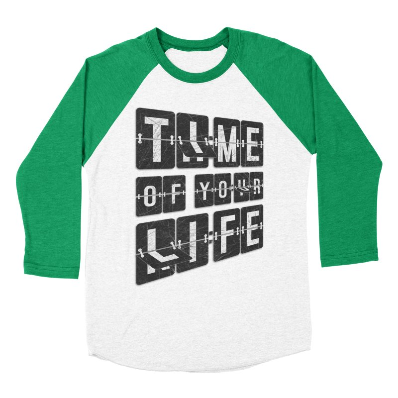 Time Women's Baseball Triblend T-Shirt by Dianne Delahunty's Artist Shop