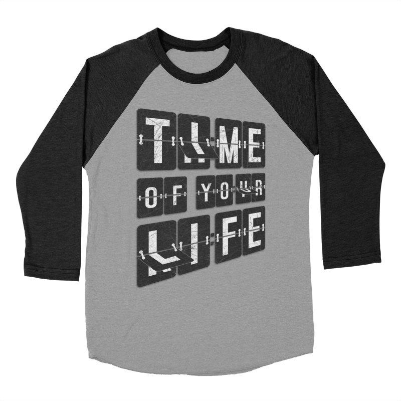 Time Women's Baseball Triblend Longsleeve T-Shirt by Dianne Delahunty's Artist Shop